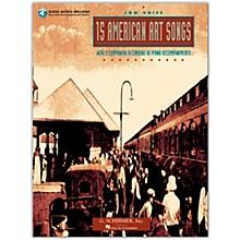 G. Schirmer 15 American Art Songs for Low Voice Book/Online Audio