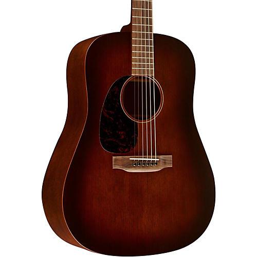 Martin 15 Series D-15M Dreadnought Left-Handed Acoustic Guitar