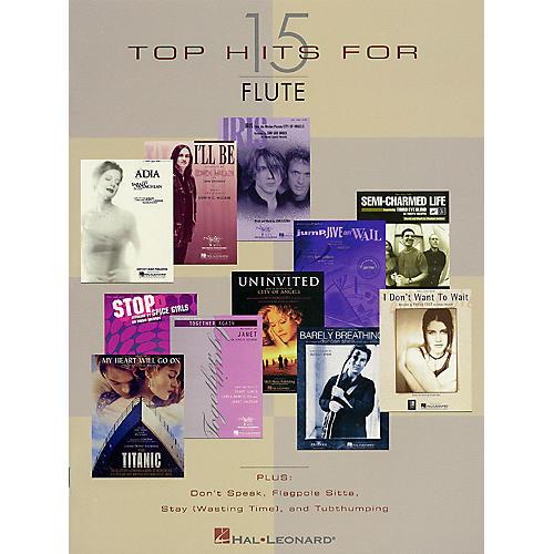 Hal Leonard 15 Top Hits Instrumental Folio Series-thumbnail