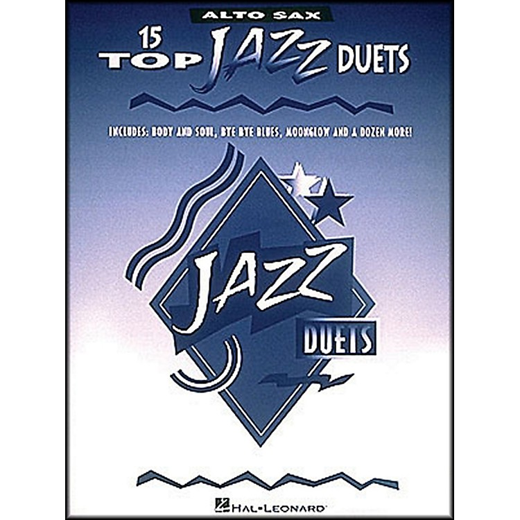 Hal Leonard 15 Top Jazz Duets for Alto Sax