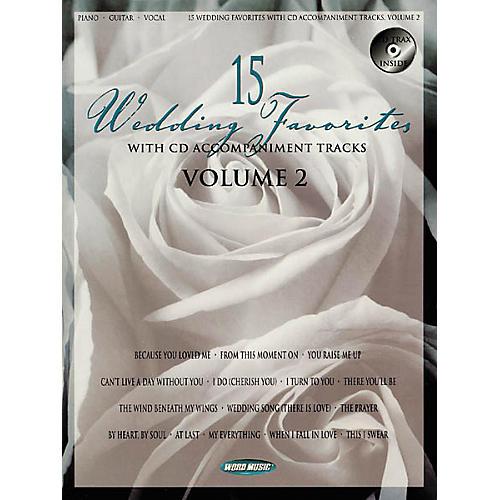 Word Music 15 Wedding Favorites - Volume 2 Book-thumbnail