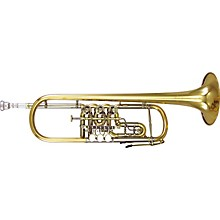 Kanstul 1505 Series Bb Rotary Trumpet 1505-1 Lacquer