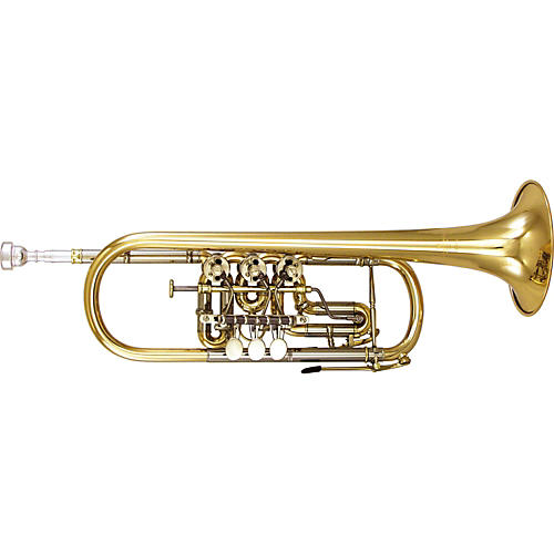 Kanstul 1506 Series Rotary C Trumpet 1506-2 Silver