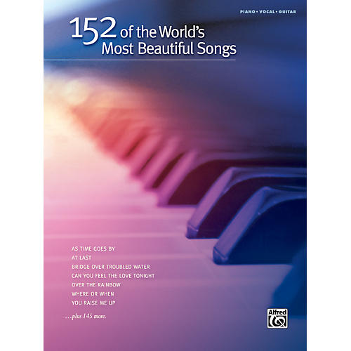 Hal Leonard 152 of the World's Most Beautiful Songs Piano/Vocal/Guitar Book-thumbnail