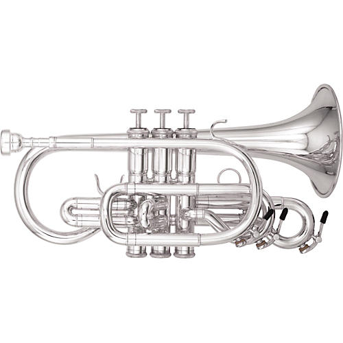 Kanstul 1530 Series Bb Cornet 1530-2 Silver-thumbnail