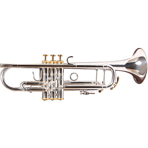 XO 1602S Professional Series Bb Trumpet 1602RS Silver - Rose Brass Bell