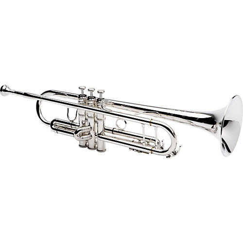 XO 1602S Professional Series Bb Trumpet 1602S Silver - Yellow Brass Bell
