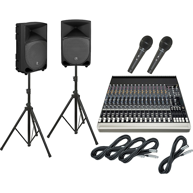 Mackie1604-VLZ3 / TH-12A PA Package