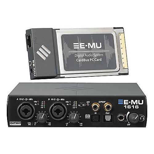 E-mu 1616 Laptop CardBus Digital Audio System