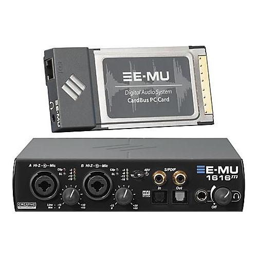 E-mu 1616M Master Laptop CardBus Digital Audio System-thumbnail