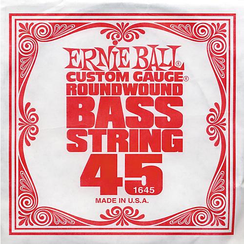 Ernie Ball 1645 Single Bass Guitar String