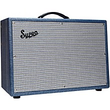 Supro 1648RT Saturn Reverb 15W 1x12 Tube Guitar Combo Amp Level 1