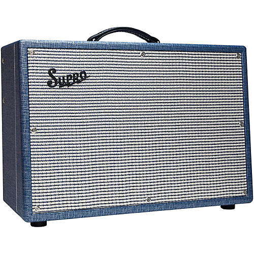 Supro 1648RT Saturn Reverb 15W 1x12 Tube Guitar Combo Amp