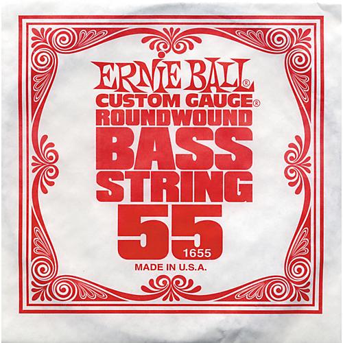 Ernie Ball 1655 Single Bass Guitar String-thumbnail
