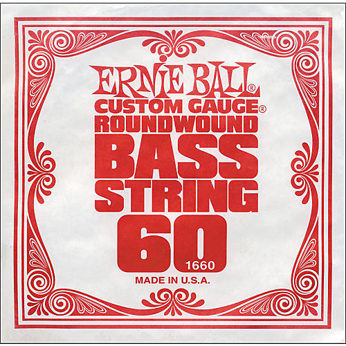 Ernie Ball 1660 Single Bass Guitar String