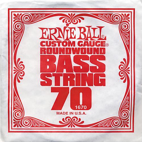 Ernie Ball 1670 Single Bass Guitar String
