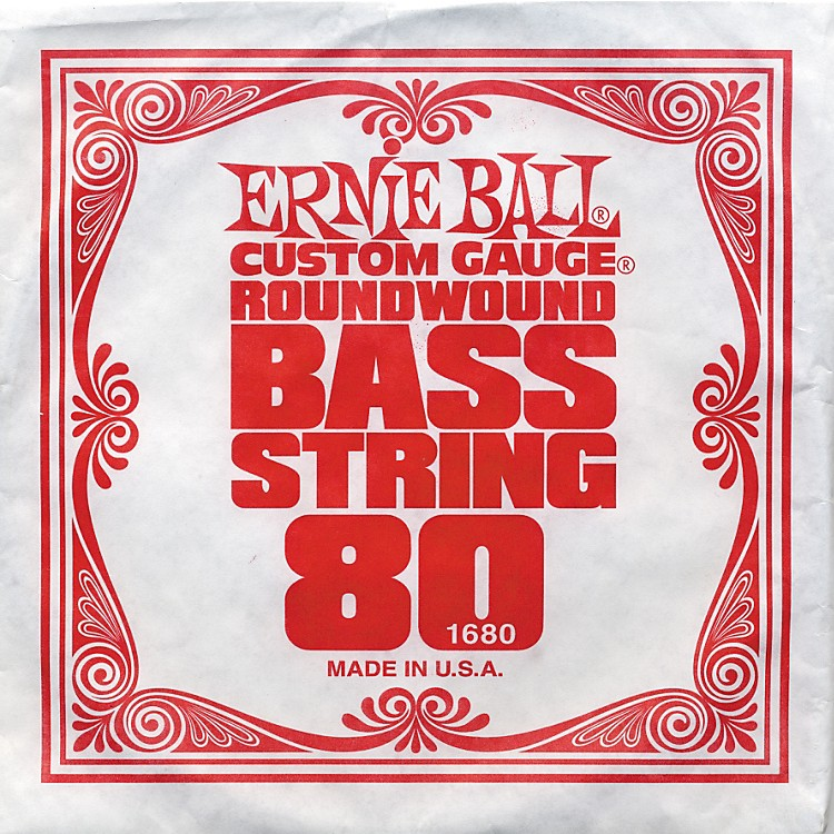 Ernie Ball 1680 Single Bass Guitar String