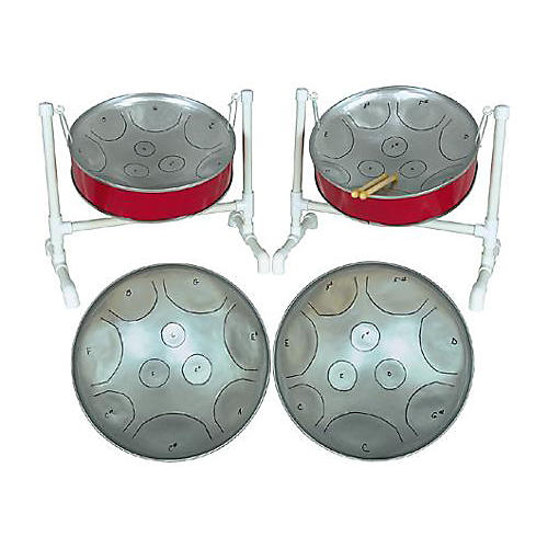Fancy Pans 16DBL Double Mini Chromatic Steel Drum-thumbnail
