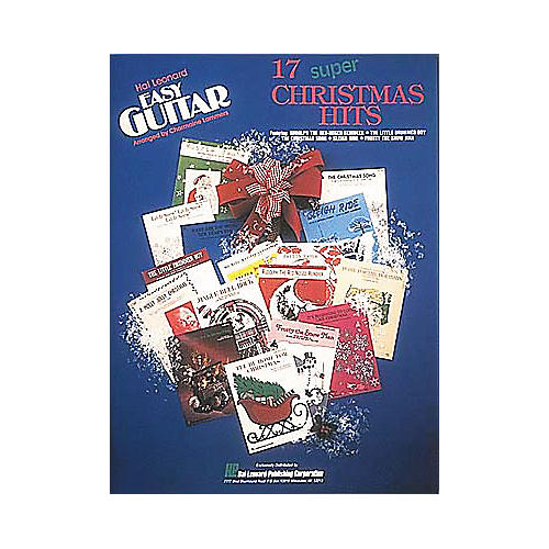 Hal Leonard 17 Super Christmas Hits Easy Guitar (Book)