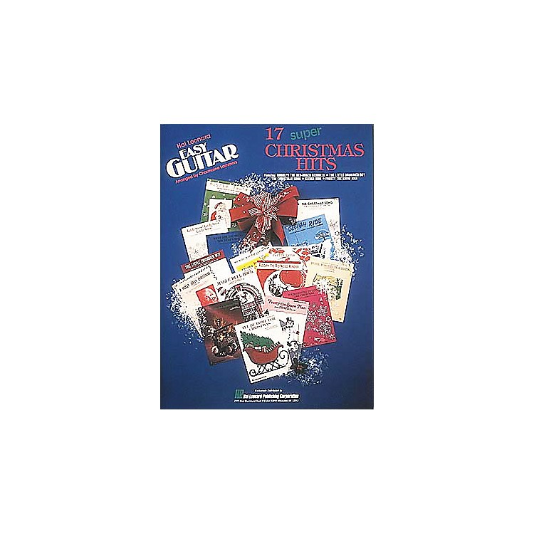 Hal Leonard 17 Super Christmas Hits Easy Guitar (Book)