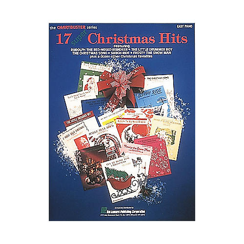 Hal Leonard 17 Super Christmas Hits For Easy Piano