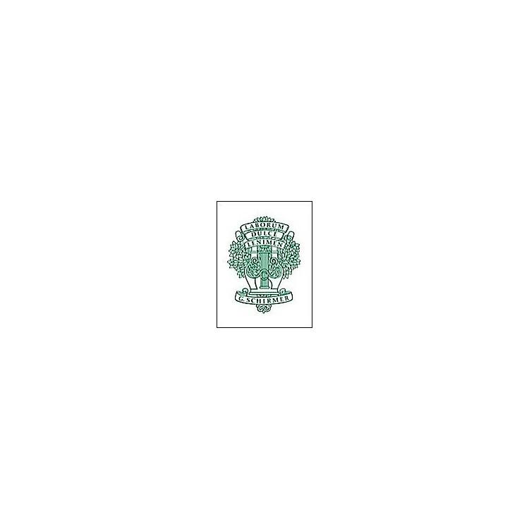 G. Schirmer18 Characteristic Studies for The Piano Op 109 Complete Etudes De Genre 18 By Burgmuller