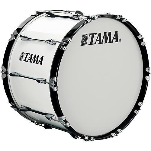 Tama Marching 18 x 14 in. Starlight Marching Bass Drum Sugar White