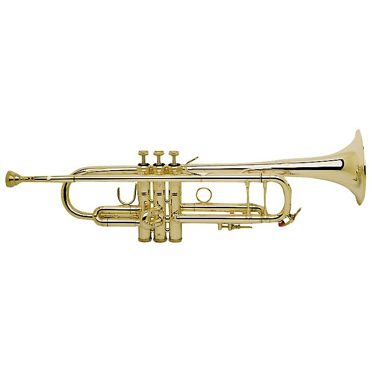 Bach 180-72 Stradivarius Series Bb Trumpet 18072G Lacquer Gold Brass Bell