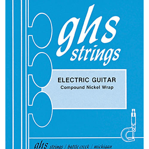 GHS 1800 Compound Nickel Wrap Light - Wound Third String