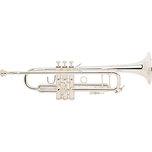 Bach 180S-72 Stradivarius Series Bb Trumpet 180S72 Silver With Yellow Brass Bell