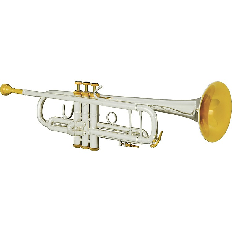 Bach 180S Custom Stradivarius Series Bb Trumpet with FREE Upgrades 180WB Silver Gold Trim