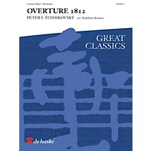 De Haske Music 1812 Overture (Score and Parts) Concert Band Level 5 Composed by Pyotr Il'yich Tchaikovsky
