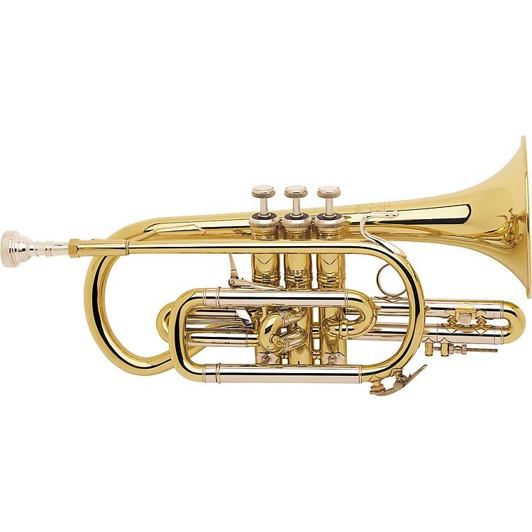 Bach184ML Stradivarius Series Bb Cornet184SML Silver