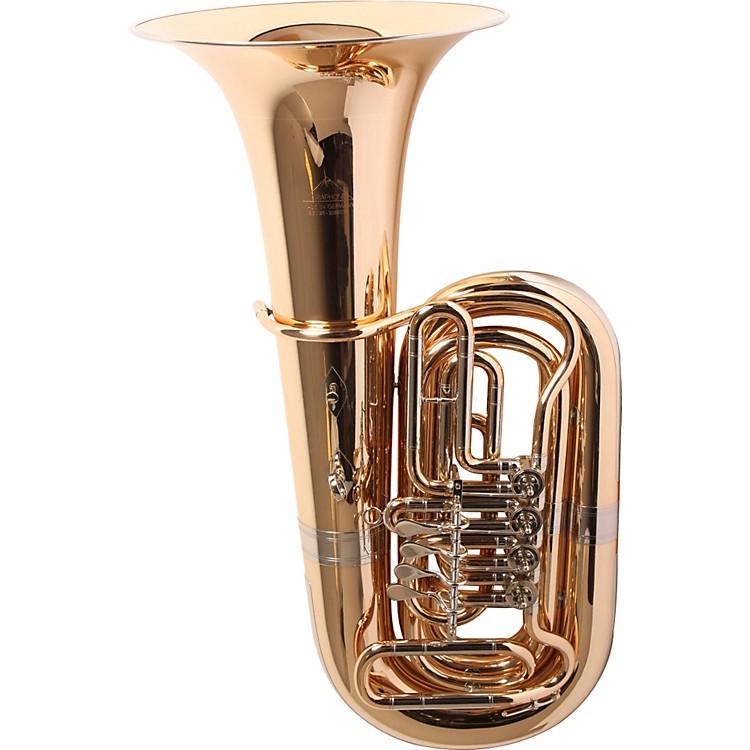 Miraphone186-4U Series 4-Valve 4/4 BBb Tuba186-4V Gold Brass 4 Valve Nickel-Silver Slides