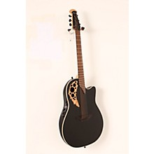 Ovation 1868TX Elite Spalted Maple Acoustic-Electric Guitar Level 3 Gloss Black 888366057858