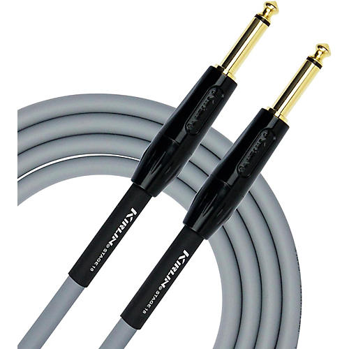 KIRLIN 18AWG Stage Instrument Cable with Gray PVC Jacket-thumbnail