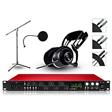 Focusrite 18i20 Recording Bundle with Blue Headphones