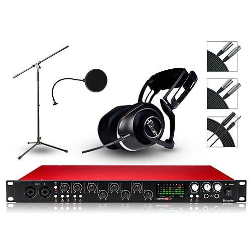Focusrite 18i20 Recording Bundle with Blue Headphones-thumbnail
