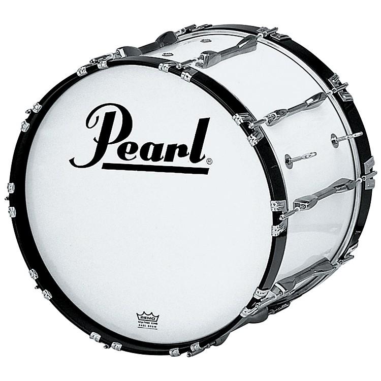 Pearl18x14 Championship Series Marching Bass DrumMidnight Black