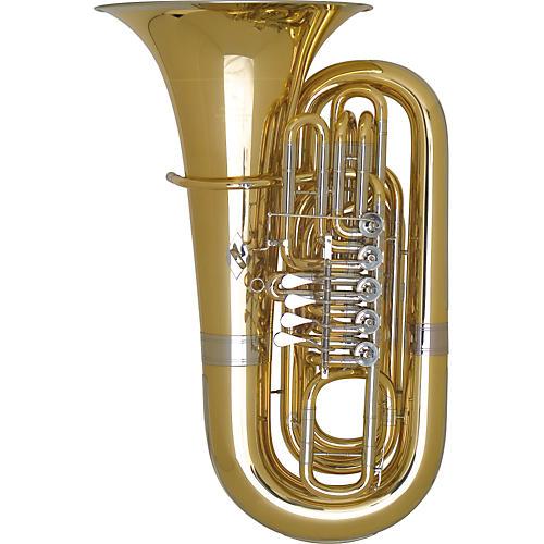 Miraphone 191 Series 5/4 BBb Tuba 191-5V Gold Brass 5 Valves Nickel Silver Slides