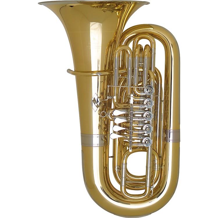 Miraphone191 Series 5/4 BBb Tuba191-5V Gold Brass 5 Valves Nickel Silver Slides