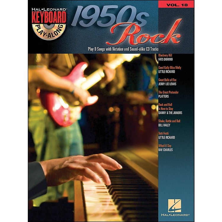 Hal Leonard 1950S Rock - Keyboard Play-Along Volume 18 (Book/CD)