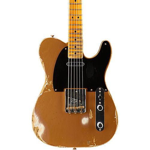 Fender Custom Shop 1951 Heavy Relic Telecaster Maple Fingerboard Electric Guitar-thumbnail