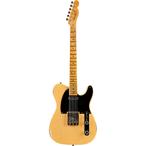 Fender Custom Shop 1951 Nocaster Relic Twisted Telecaster Pickups Electric Guitar Nocaster Blonde Maple Fretboard