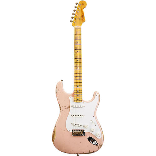 Fender Custom Shop 1954 Heavy Relic Stratocaster Electric Guitar Shell Pink