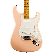 Fender Custom Shop 1955 Journeyman Relic Stratocaster - Custom Built - NAMM Limited Edition Faded Aged Shell Pink