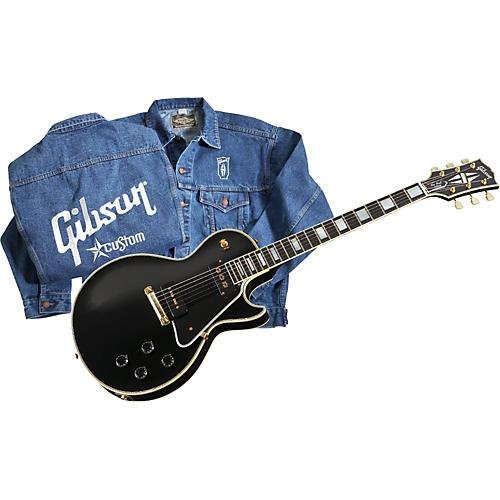 Gibson Custom 1955 Les Paul Custom Historic Prototype Electric Guitar-thumbnail