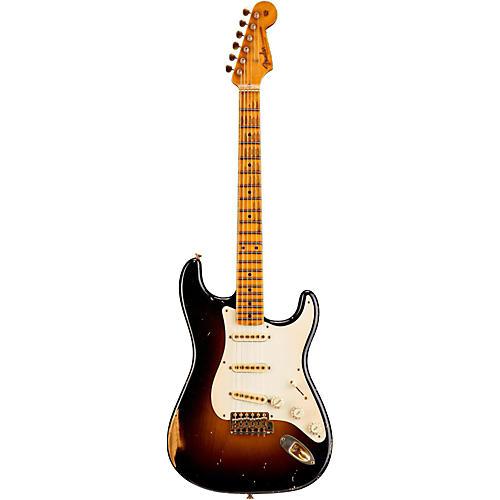 Fender Custom Shop 1955 Stratocaster Relic Ash Masterbuilt by John Cruz-thumbnail