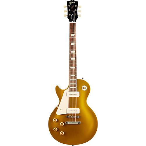 Gibson Custom 1956 Les Paul Goldtop VOS Left-Handed Electric Guitar-thumbnail