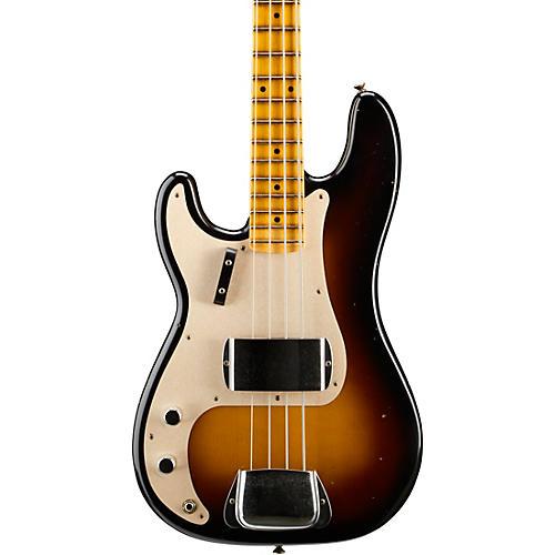 Fender Custom Shop 1957 Journeyman Relic Left Handed Precision Bass, Maple Fingerboard-thumbnail